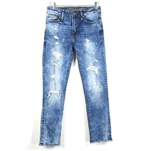 American Eagle Outfitters Destructed Slim Jeans